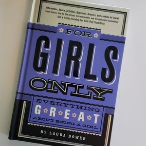 For Girls Only Hardback Book